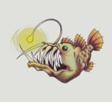 deep sea angler fish by Liz Sterry