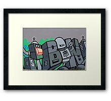 Street Art: global edition # 43 - Futurama Framed Print