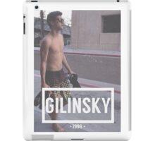 Gilinsky iPad Case/Skin