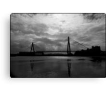 Urban Landscape # 10 Glebe Island Bridge  Canvas Print
