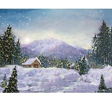 Silent Night Photographic Print
