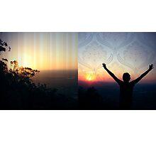 Sky-High Photographic Print
