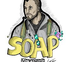Soap MacTavish by Squeakierhippo