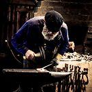 Mont De Lancey Blacksmithing 6 by Samantha Cole-Surjan