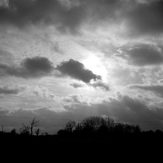 Obscured by Clouds by Dave Pearson