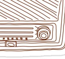 Radio Sticker