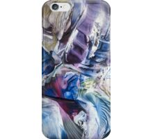 Surrounding spiral particles iPhone Case/Skin