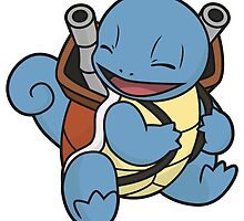 Squirtle's evolution by elenwae