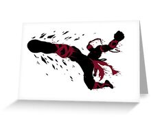 Lee Sin Ink Black Greeting Card