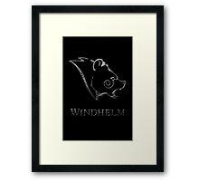Windhelm Framed Print