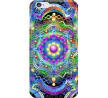 Mandala Psychedelic Art Design iPhone Case/Skin