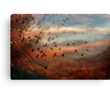 In the Blink Canvas Print