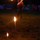 Fire Twirler by Allison Lane