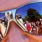 Sunglass Reflection by Allison Lane