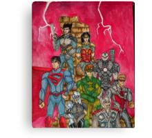 Justice 2 Canvas Print