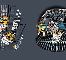 Despicable Escape & Training (2-sided mug) by DJKopet