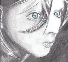 Blue Eyed Girl by KLoganArt