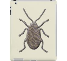 Flea Beetle Silhouette iPad Case/Skin