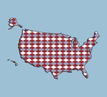 Argyle USA Silhouette Kids Clothes