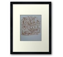 Wells Cathedral Series - 5 2014 Framed Print