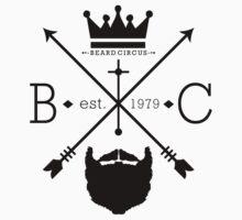 Beard Circus Logo BLK by mijumi
