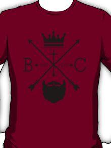 Beard Circus Logo BLK T-Shirt