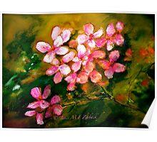 Flowers..Geranium Poster