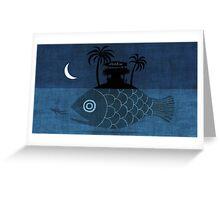 """Denpasar"" Illustration Toni Demuro Greeting Card"