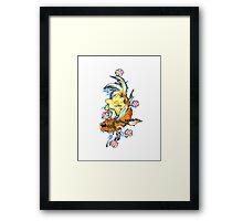 koi carp Framed Print