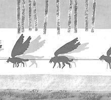 """""""Ammarnäs"""" illustration Toni Demuro by Eric Tchijakoff"""