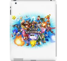 Smash Bros WII U QUEEN Size Duvet Cover-Other Sizes on my Page! (+Others!) iPad Case/Skin