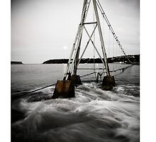 The Shark Net, Balmoral Beach, Sydney, Australia by Paul Foley