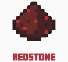Redstone - Minecraft by Gaia Romei