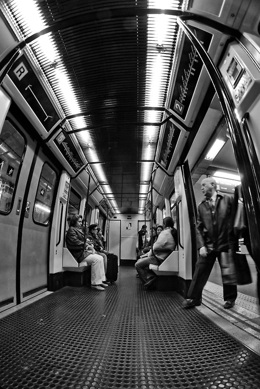 Entering the tube by Bruno Abarca