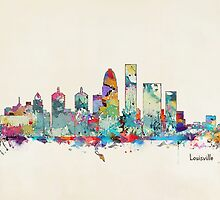 Louisville Kentucky skyline by bri-b