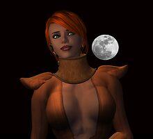 Moonlit Thoughts by Shoshana Epsilon