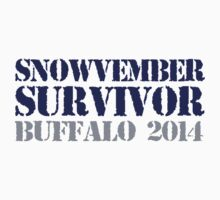 Funny 'Snowvember Survivor Buffalo 2014' Snowstorm Hoodies and Accessories T-Shirt