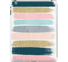 Zara - Modern abstract brushstroke painting for cute cell phone and trendy gifts iPad Case/Skin
