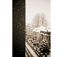 Snowy afternoon Photographic Print