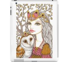 Sisterhood of the white owl iPad Case/Skin