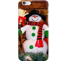 Frosty Is Ready For Christmas iPhone Case/Skin
