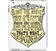Blunt the Knives iPad Case/Skin