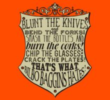 Blunt the Knives Kids Clothes