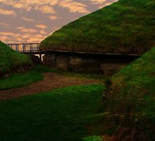 Knowth Passage Tombs - County Meath by S.I. Sheehan