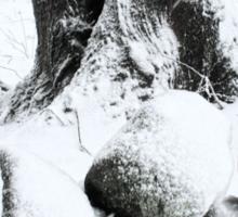 Snow Day in Rhode Island  Sticker