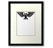 Imperium Of Man Aquila Framed Print
