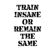 Train Insane by TheBestStore