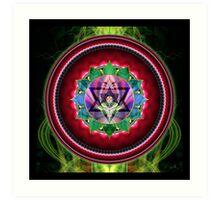 Chakra: 4 Heart Chakra Art Print