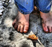 Dirty Little Feet  by Rachel Leigh