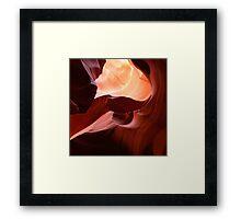 Magic Canyon Framed Print